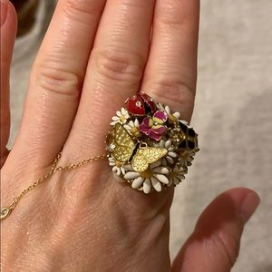 Juicy couture bouquet ring